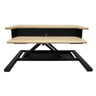 LVLUP PRO32-WO Level Up 32 Pro Standing Desk Converter