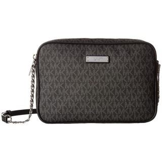 Link to MICHAEL Michael Kors Signature Jet Set Item Large East West Crossbody Black Similar Items in Shop By Style