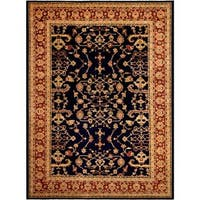 Arshs Fine Rugs Kafkaz Peshawar Cherly Blue/Red Wool Hand-knotted Rug (12' x 16'1)