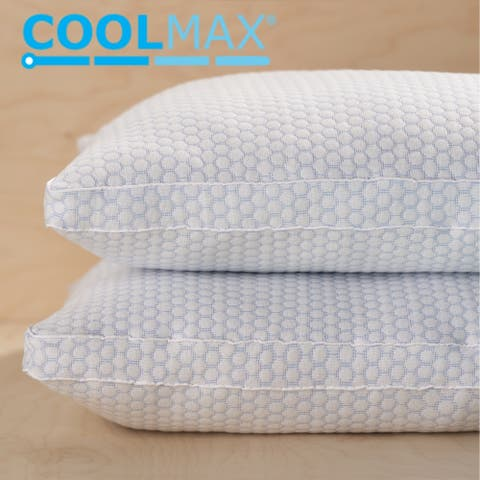 ClimaKnit Cooling Touch Gusset Down Alternative Pillow