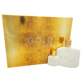 Jay Z Gold Men's 2-piece Gift Set https://ak1.ostkcdn.com/images/products/16375743/P22732301.jpg?impolicy=medium