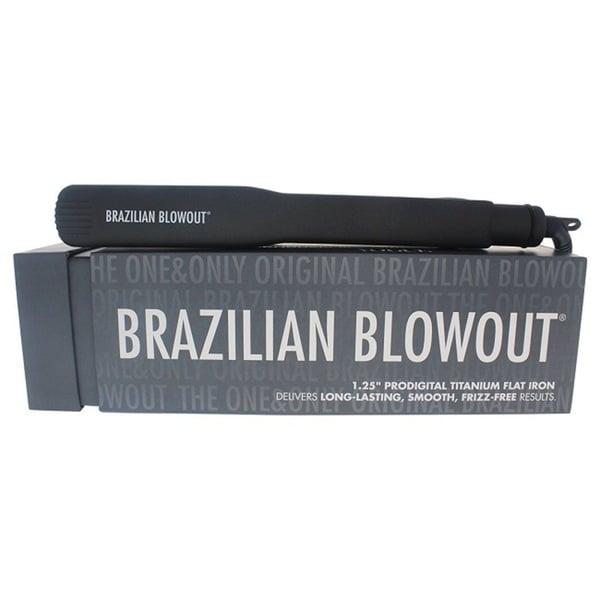 Brazilian Blowout Prodigital Titanium 1 25-inch Flat Iron