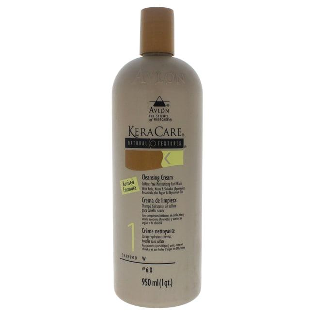 Avlon 32-ounce KeraCare Natural Textures Cleansing Cream ...