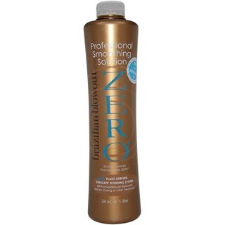 Brazilian Blowout 34-ounce Zero Professional Smoothing Solution