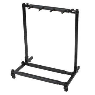 Triple Folding Multiple Guitar Holder Rack Stand