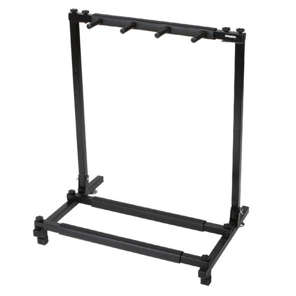 shop triple folding multiple guitar holder rack stand free shipping on orders over 45. Black Bedroom Furniture Sets. Home Design Ideas