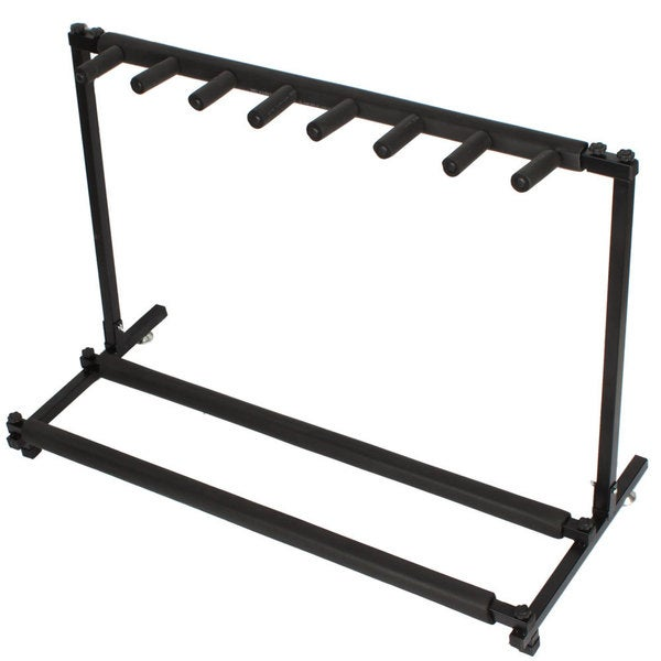 shop rack style guitar stand for multiple guitars bass on sale free shipping on orders over. Black Bedroom Furniture Sets. Home Design Ideas