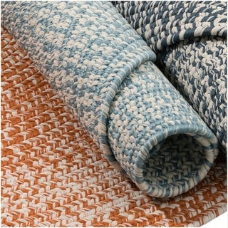 Colonial Mills Boatside Multicolor Tweed Round Indoor/Outdoor Reversible Braided Rug (5' Round)|https://ak1.ostkcdn.com/images/products/16381342/P22733031.jpg?_ostk_perf_=percv&impolicy=medium