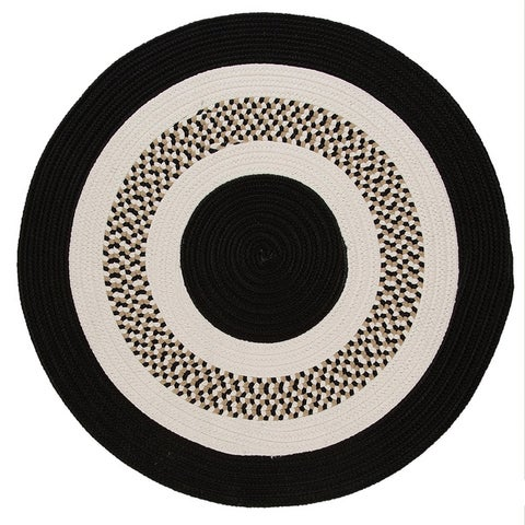 Patriotic Indoor/Outdoor Reversible Oval Braided Rug