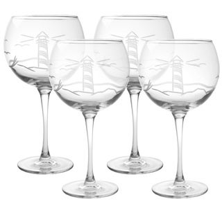 Lighthouse 19-ounce Balloon Wine Glass (Pack of 4)