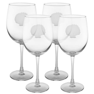 Seashell 19-ounce All-purpose Wine Glass (Pack of 4)