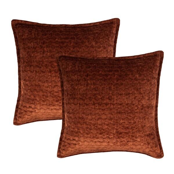 Sherry Kline Santa Cruz Choco 20-inch Decorative Throw Pillow