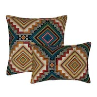 Sherry Kline Aliso Creek Emerald Combo Decorative Throw Pillow (set of 2)