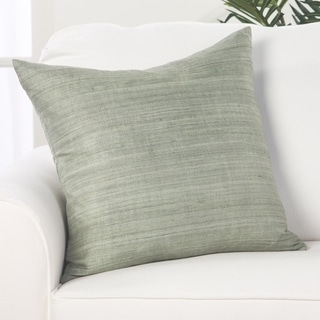 Forrest Solid Green Throw Pillow