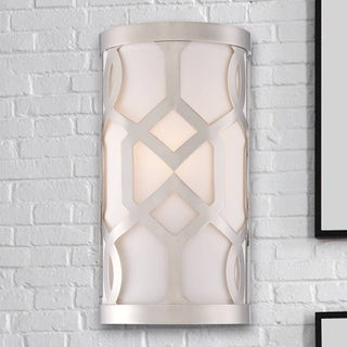 Crystorama Libby Langdon Jennings Collection 1-light Polished Nickel Wall Sconce