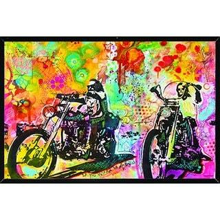 Dean Russo 'Easy Rider' Framed Poster