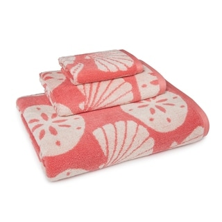 Coastal Shade Shell 3-Piece Towel Set