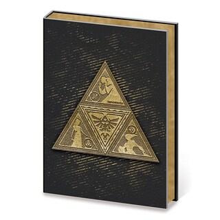The Legend of Zelda - TriForce - Metal Embellished Premium A5 Journal