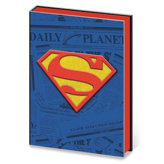 Superman - Daily Planet - PVC Embellished Premium A5 Journal