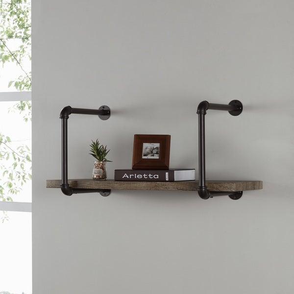 Danya B. Industrial Pipe Wall Shelf