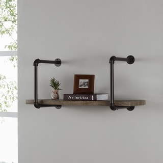 Danya B. Industrial Pipe Wall Shelf