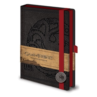 Game of Thrones - Targaryen A5 journal