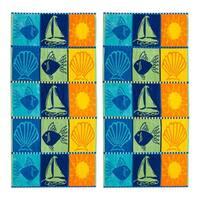 Signs Of Summer Beach Towel (Set of 2) - N/A