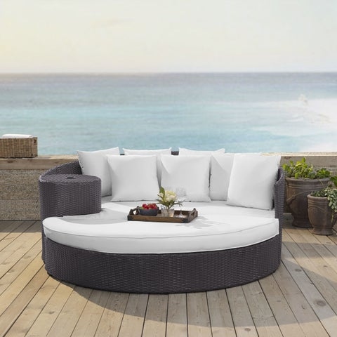 Crosley Furniture Biscayne Wicker Daybed