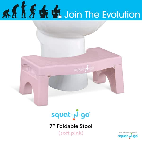 Phenomenal Shop Squat N Go 7 Inch Foldable Toilet Stool Free Shipping Squirreltailoven Fun Painted Chair Ideas Images Squirreltailovenorg