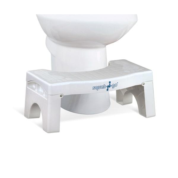 Shop Squat N Go 7 Inch Foldable Toilet Stool Free