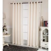 Laurel Creek Bradford Textured 90-inch Grommet Curtain Panel
