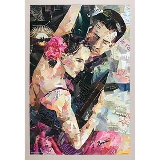 Tango Parisienne' White Framed Poster