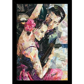 Tango Parisienne Poster in a Black Poster Frame (24x36)