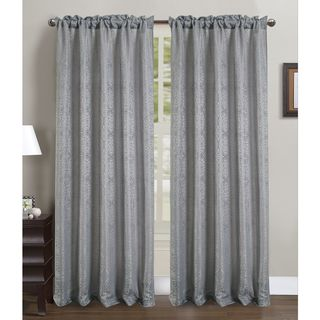 RT Designers Collection Fulton Crushed 90-inch Rod Pocket Curtain Panel