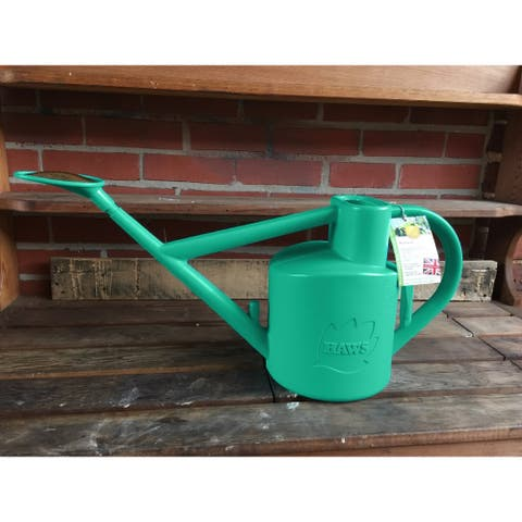 Haws English Garden Practician Outdoor 1.6-gallon Plastic Teal Outdoor Watering Can