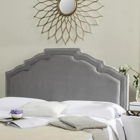 Safavieh Alexia Pewter Headboard (Full)