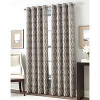 Trellis Gateway Room Darkening Grommet Curtain Panel