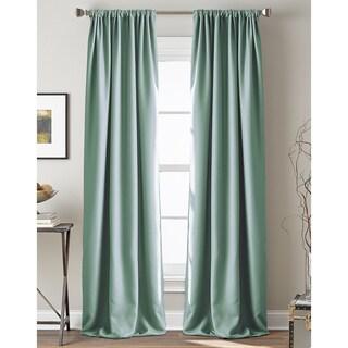 Textured Hollister Room Darkening Curtain Panel