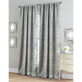 Damask Marlena Room Darkening Curtain Panel (3 options available)