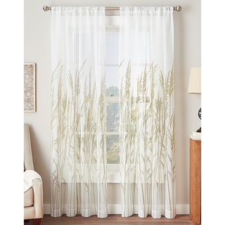 Fields of Meadow Sheer Curtain Panel
