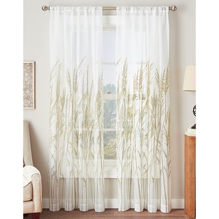 Fields of Meadow Sheer Curtain Panel
