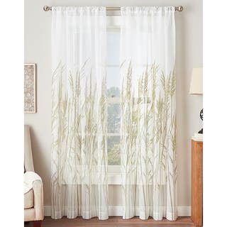 Fields Of Meadow Sheer Curtain Panel 3 Options Available