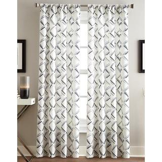 trellis window curtain panel (63 in. x 58 in.) - free shipping on