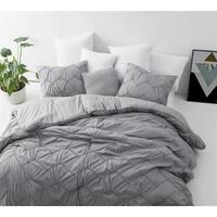 BYB Chevron Waves Supersoft Grey Comforter Set