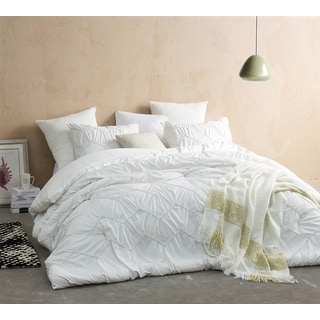 Chevron Waves Supersoft Jet Stream Off-White Comforter Set
