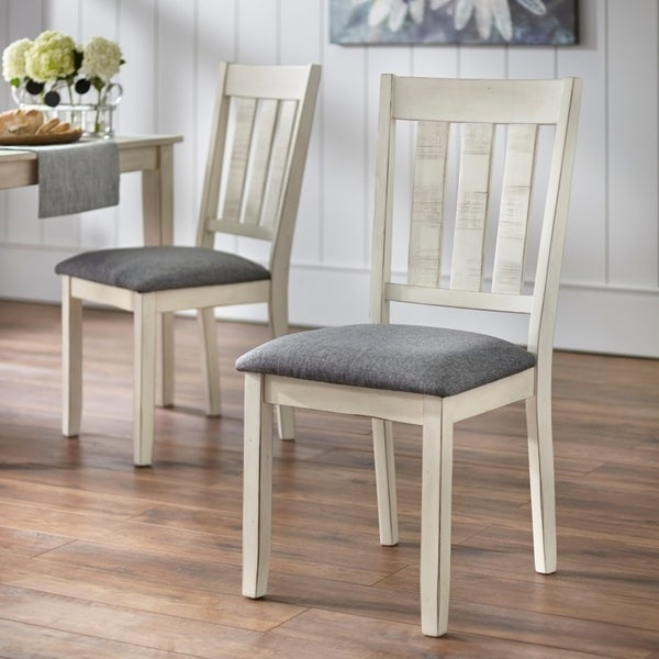 Simple Living Olin Dining Chairs (Set of 2). Opens flyout.