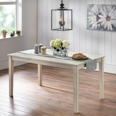 Simple Living Olin Modern Farmhouse Dining Table