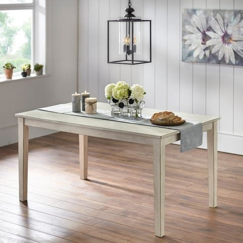 Simple Living Olin Modern Farmhouse Dining Table