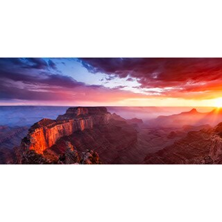 Sunrise Canyon Wall Decals
