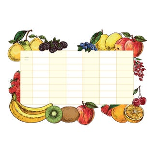 Fruits Whiteboard Wall Decal